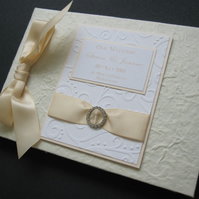 Personalised Wedding Album or Guest Album