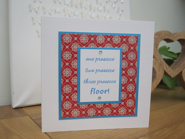 Prosecco Lovers Card!