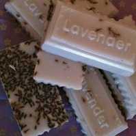 Lavender, Shea Butter and Goat's Milk Soap Bar