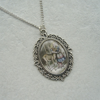 Alice in Wonderland Pendant Necklace
