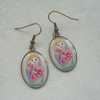 Russian Doll Earrings (2)