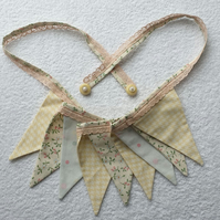 Shabby Chic Floral Bunting - 2 Metres