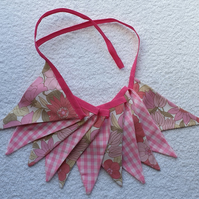 Pretty in Pink Bunting - 2 Metres