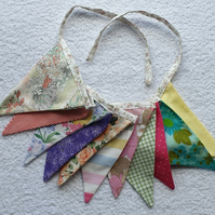 All the colours Bunting - 2 Metres