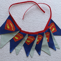 Superman Bunting - 2 Metres