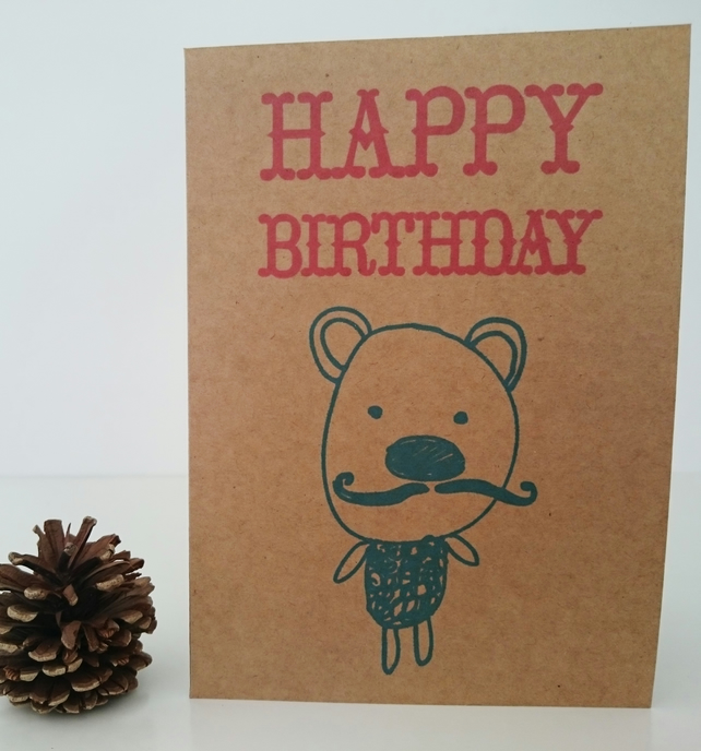Frederique Birthday Card Large