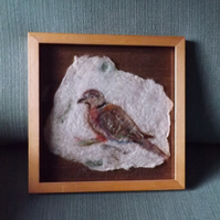 Turtle Dove - Felted Wild Bird