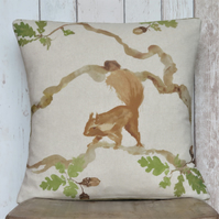 Red Squirrel Cushion - Square