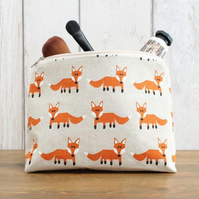 Mr Fox Makeup Bag