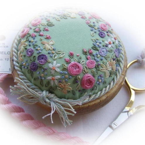 Sunshine and Flowers Pincushion kit