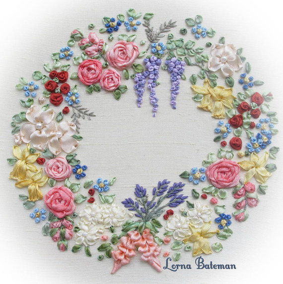 Garland of Silk Flowers (Small) – Full Kit