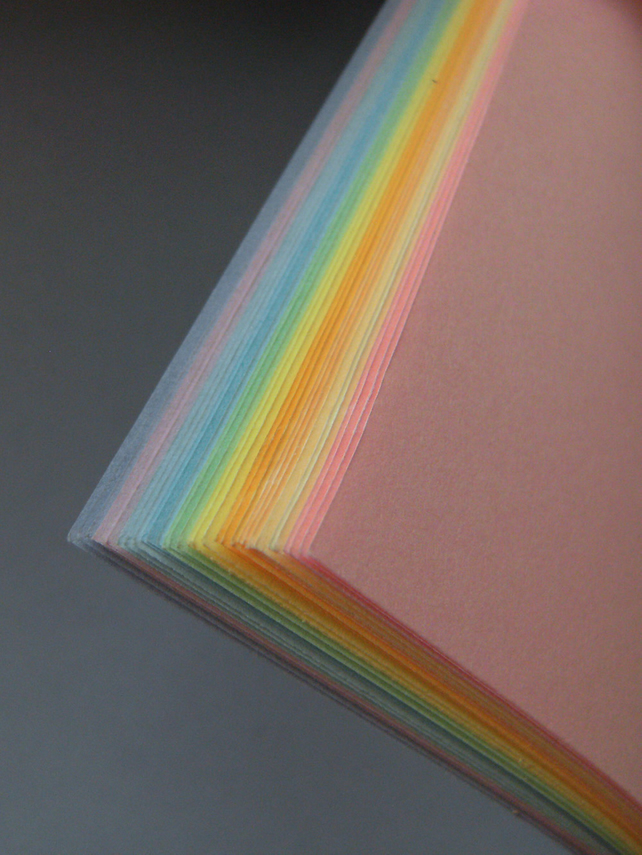 Pearly Rainbow A5 Notebook - Easter Gift, Springtime Journal