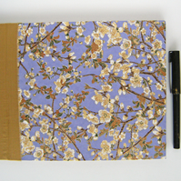 Guest Book Japanese Blossoms Hand Bound Book