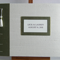 Hand-Made Book Label Name Plate - Add a Label to your LizzieMade Book