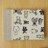 Teddy Bears Photo Album, small photo book, boasting book, christening, baby book