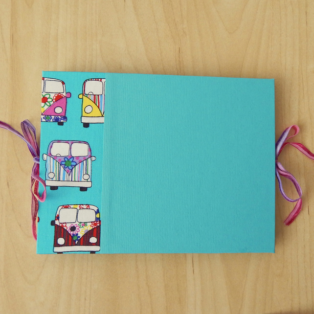 Camper Vans Photo Album, Photo Book, Holiday Journal, Scrapbook, Festival Photos