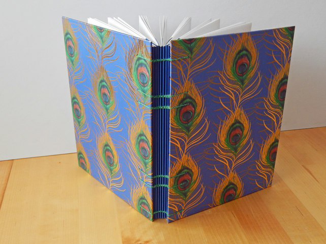 Tropical Peacock A5 Journal, Bullet Journal, Gifts for geeks, Student Gifts
