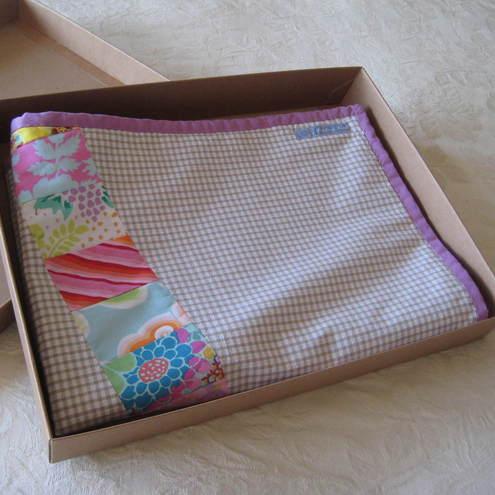 Pretty Patchwork Cot Blanket
