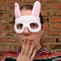 SALE: White Rabbit Mask