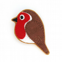 PDF: Felt Robin, Bird Sewing Tutorial & Embroidery Pattern (Digital File)