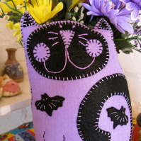 Spooky Kooky Kat Plush/Mini Pillow