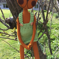 Kooky Kuties - Art Doll - Kahli