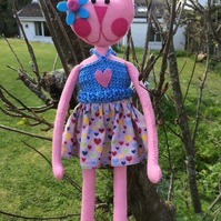 Kooky Kuties - Art Doll - Kandie