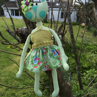 Kooky Kuties - Art Doll - Kiona