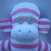 Sock monkey Jane CE certified