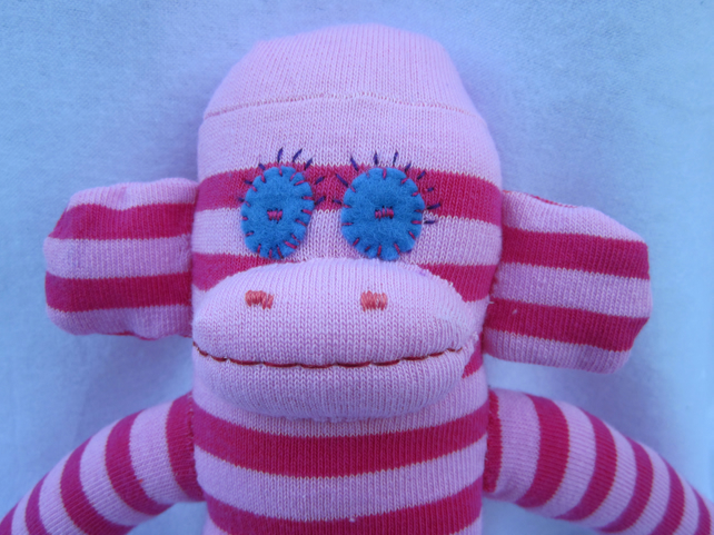 Sock monkey Loulou CE certified