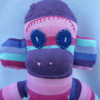 Sock monkey Bliss CE certified
