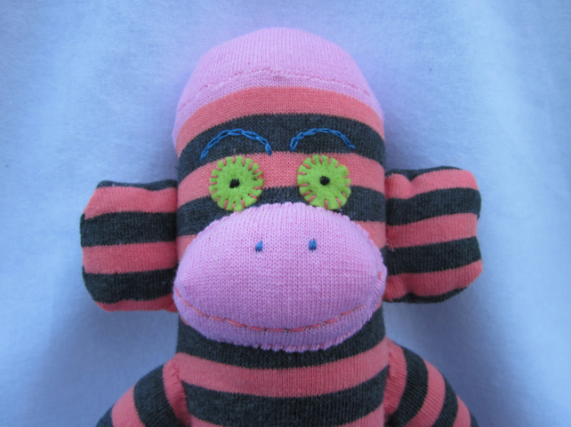 Sock monkey Edith CE certified