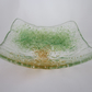 Handmade fused glass candy bowl - tree of life 1