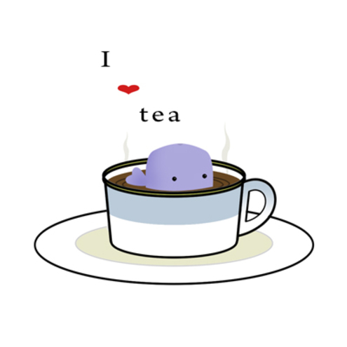 A Drop of Tea - Card