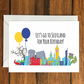 Lets go to Scotland for your Birthday greeting card A6