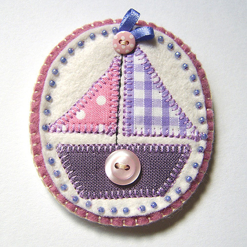 Little Boat Brooch