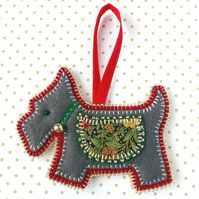 Scottie Dog Christmas Decorations