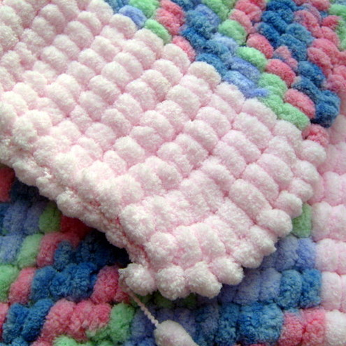 Pom Pom Baby Blanket Pattern Sewing Patterns For Baby