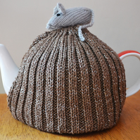 Large Handmade Mouse Tea Cosy