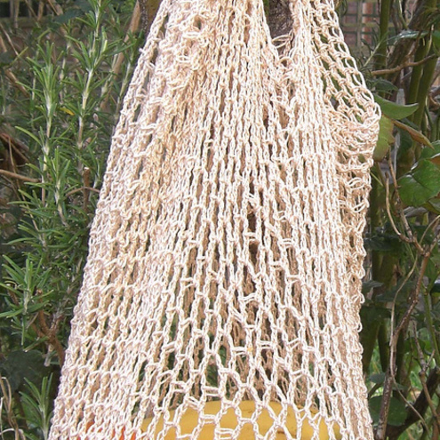 Crochet Grocery Bag Pattern : Crochet Pattern MARKET BAG string grocery by em... - Folksy