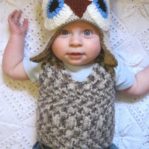 CROCHET PATTERN for BABY TANK TOP sweater vest PDF - Folksy