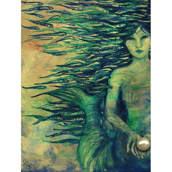 Mermaid - Genevieve Cseh's Art