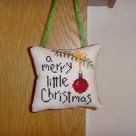 Merry Little Christmas Decoration