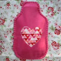 Heart Hot Water Bottle