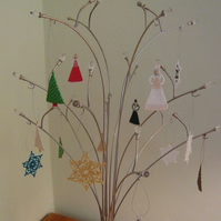 Christmas Decorations: Set of Three