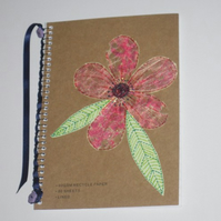 Customised Recycled Notebook
