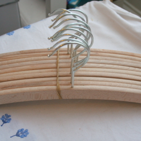 Sale 10 Wooden Coat Hangers Perfect For Peg Folksy