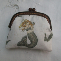 Coin purse mini mermaids seahorses