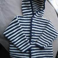Striped Boys Hoodie *reserved for Erika*