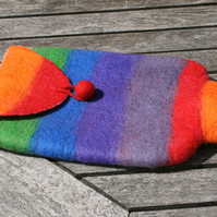 Rainbow Hot Water Bottle Cover
